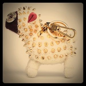 Burberry Wendy Sheep Beast Keyring in White